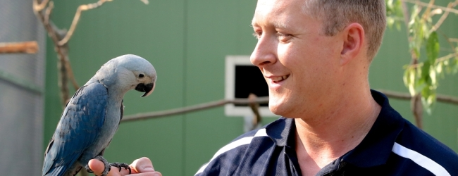 Simon Degenhard: ACTP is the best breeding facility for parrots I have ever visited