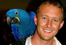 Simon Degenhard: Spix's Macaws will certainly fly in their habitat again, it's just a matter of time