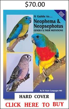 Neophema Neopsephotus book Campagne