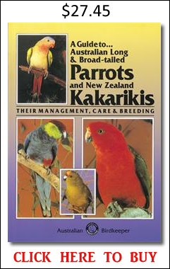 Australian Parrots and Kakarikis book