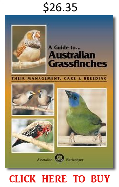 Australian grass finches book