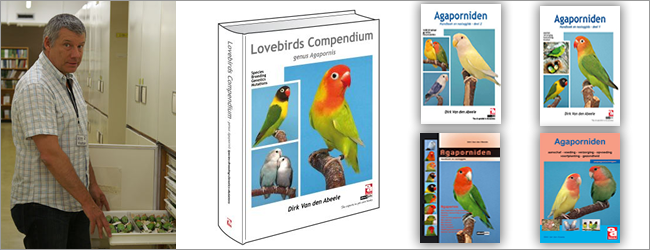 Dirk van Abeele is going to publish his most extensive monograph about lovebirds